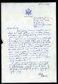 Letter from Charles Lawrence to Laura Lawrence, 1942